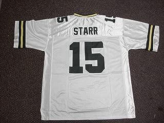 bart starr white jersey