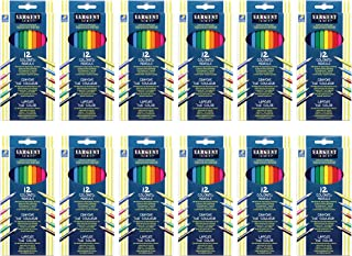 Sargent Art Colored Pencils, Assorted 12 Pack