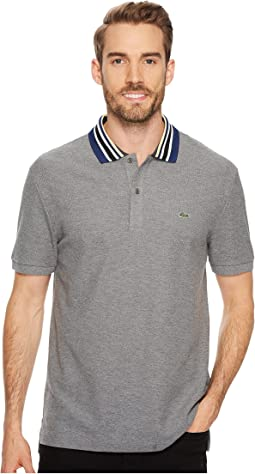 Lacoste - Short Sleeve Semi Fancy Mouline Noppe Pique Polo - Slim Fit