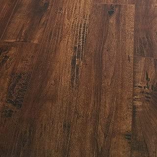 Turtle Bay Floors Waterproof Click WPC Flooring - Crafted Maple High-End Floating Flooring: 4-Colors (Sample, WYNWOOD)