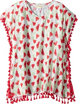 Tunic with Watermelon Print and Fringe (Little Kids/Big Kids)