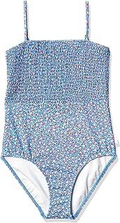 Seafolly Girls' Shirred Bodice Tank One Piece Swimsuit