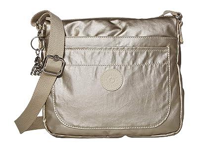 Kipling Sebastian Crossbody Bag (Cloud Metal) Handbags
