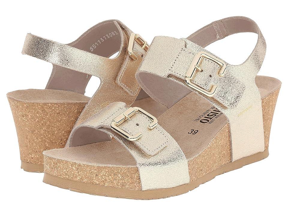 Mephisto Lissandra (Platinum Venise) Women's Wedge Shoes, Beige