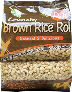GreenLife Crunchy Brown Rice Roll, 2.7 oz, Pack of 12