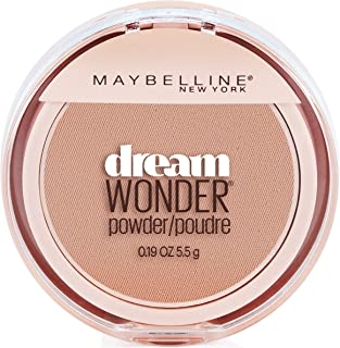 Maybelline New York Dream Wonder Powder Makeup, Creamy Natural, 0.19 oz.