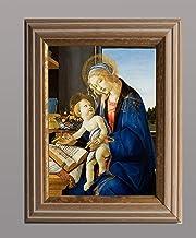 BiblioArt Series ボッティチェリ「聖母子(The Madonna of the Book)」額装品