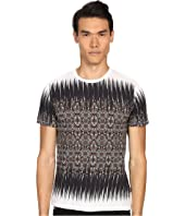 Just Cavalli - Nitik Print Short Sleeve Crew Neck Tee