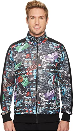PUMA T7 Track Jacket Graffiti