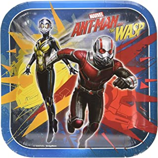 American Greetings Ant-Man and The Wasp Paper Dessert Plates, 8-Count