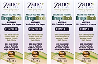 Zane Hellas Oregawash MouthWash. Enjuague bucal con aceite de orégano.Ideal para la gingivitis, la placa, la boca seca y el mal aliento.Libre de alcohol y flúor.Solución 100% Herbal.Compre 3 +1 gratis