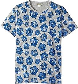 Kenzo Kids - Printed Short Sleeves Tee Shirt (Big Kids)