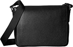 Giorgio Armani - Caviar Leather Messenger Bag