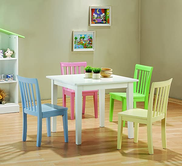 Coaster Home Furnishings 460235 CO 460235 Rory 5 Piece Dining Set Multicolor