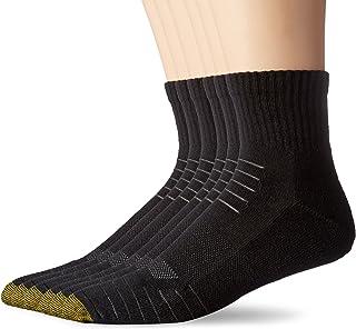 Gold Toe Men's Tech Sport Quarter Socks (6 Pair Pack)