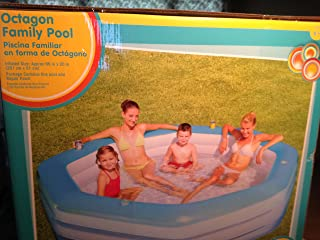 Clearwater Octagon Family Inflatable Pool