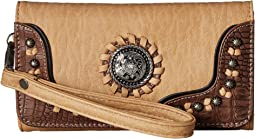 M&F Western Kinsey Clutch Wallet