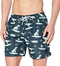 Urban Classics Pattern Swim Shorts heren zwembroek
