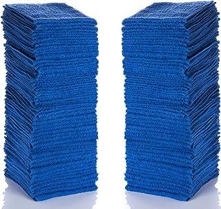 "Simpli-Magic 79219 Blue Cotton Washcloths, 12""x12"", 24 Pack"