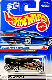 Hot Wheels 2000 First Editions -#22 Cabin Fever 01 Card with 2000 On Card #2000-82 Collectible Collector Car Mattel 1:64 Scale