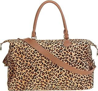 leopard weekender bag wholesale