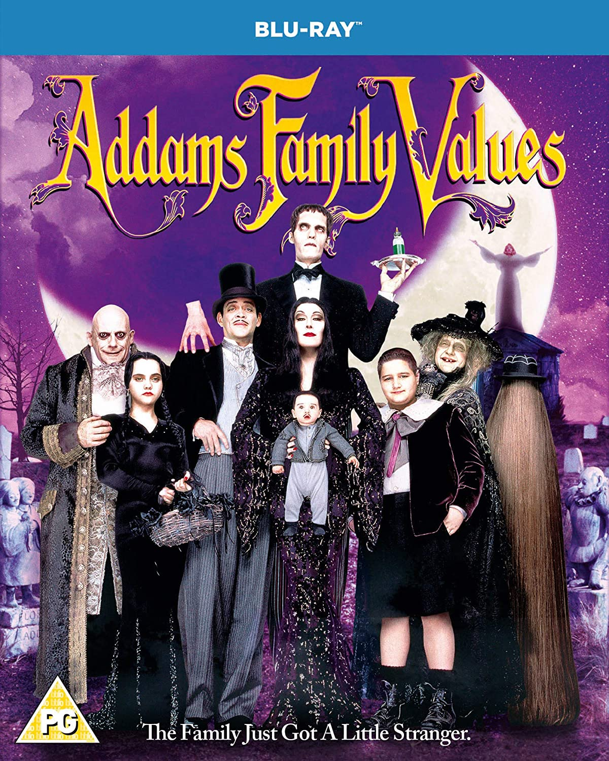 Addams Family Values Blu-ray Reservation Region sold out Free 2019