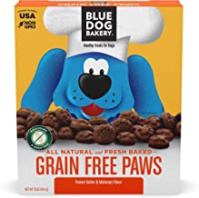 Blue Dog Bakery Natural Dog Treats, Wheat and Grain Free, Paws