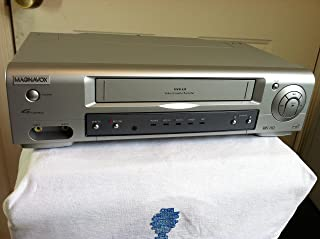 Philips Magnavox MVR430MG21 VCR Video Cassette Recorder 4-Head Hi-Fi Stereo VHS Player. VHS HQ. VCR-Plus+. Works Great. Energy Star Rated Device.