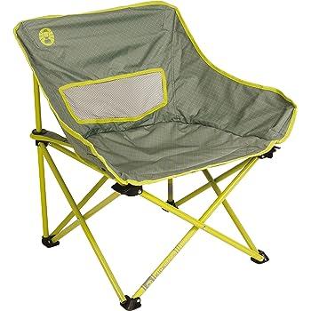 Fauteuil Pliable Coleman Chaise de Camping Festival Kickback pour les festivals structure en acier chaise pliante compacte et l/ég/ère la p/êche la plage et le jardin