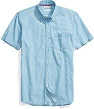 Amazon Brand - Goodthreads Men's Standard-Fit Short-Sleeve Denim Shirt