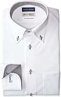[アイシャツ] i-shirt 完全ノーアイロン ストレッチ 超速乾 スリムフィット 長袖 アイシャツ ワイシャツ メンズ ノンアイロン