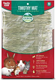 OXBOW PET PRODUCTS 448154 Timothy Club Timothy Mat for Pets, Medium