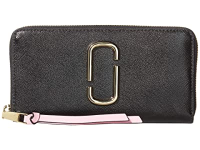 Marc Jacobs Snapshot Standard Continental Wallet (New Black Multi) Wallet Handbags