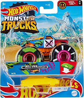 Hot Wheels FYJ44 Monster Trucks 1:64 Collection, Assorted,Multicolor