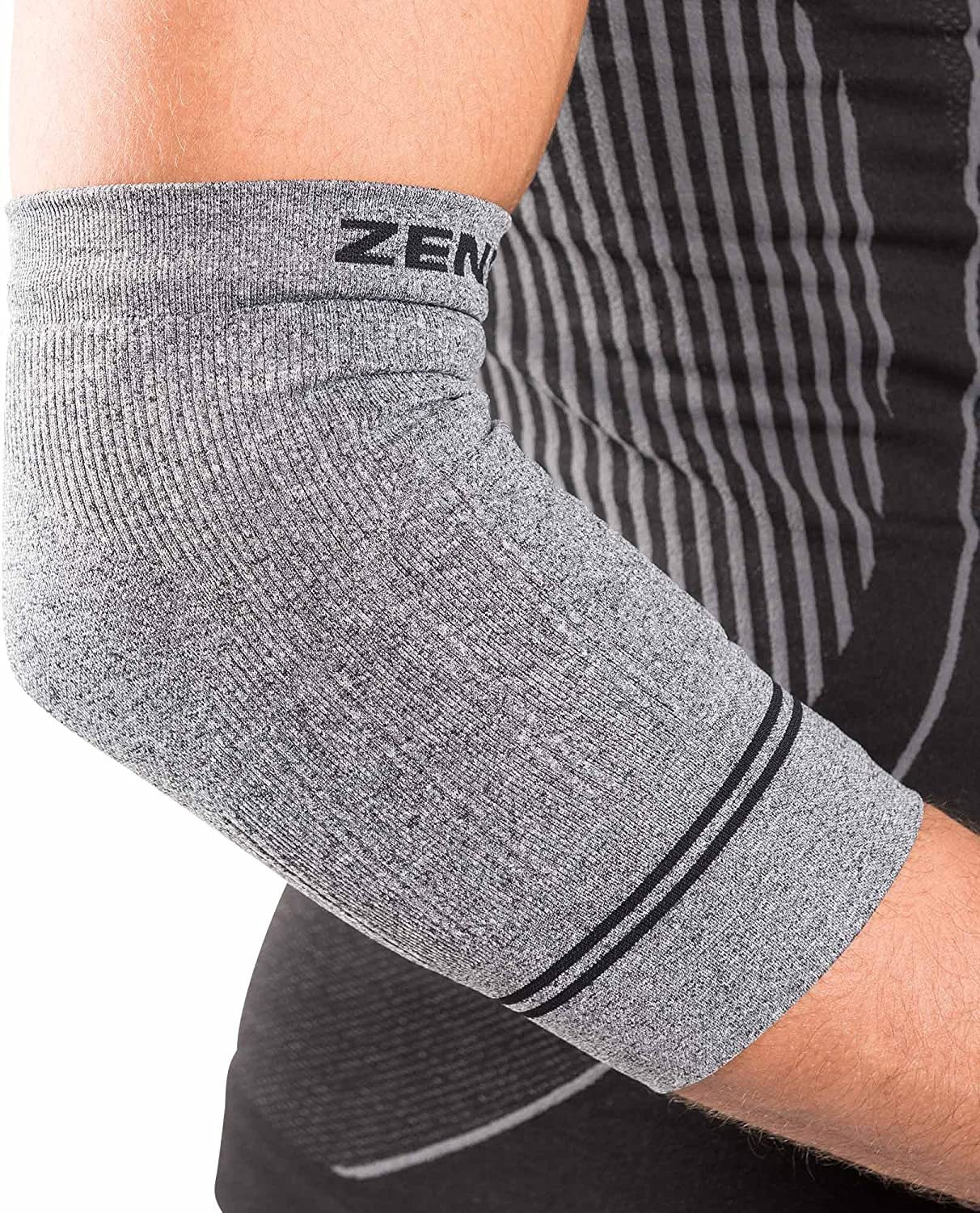 Zensah Compression Tennis Fashion Elbow Free shipping anywhere in the nation Ten Sleeve Tendonitis for