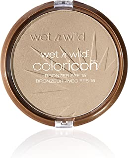 wet n wild Color Icon Bronzer SPF 15, Reserve Your Cabana, 0.46 Ounce (Pack of 3)