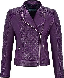 BOMBER Rock Design Genuine Leather Jacket//Coat Size S,M,L,XL,2X,3X,4X,5X