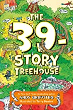 The 39-Story Treehouse: Mean Machines & Mad Professors! (The Treehouse Books)
