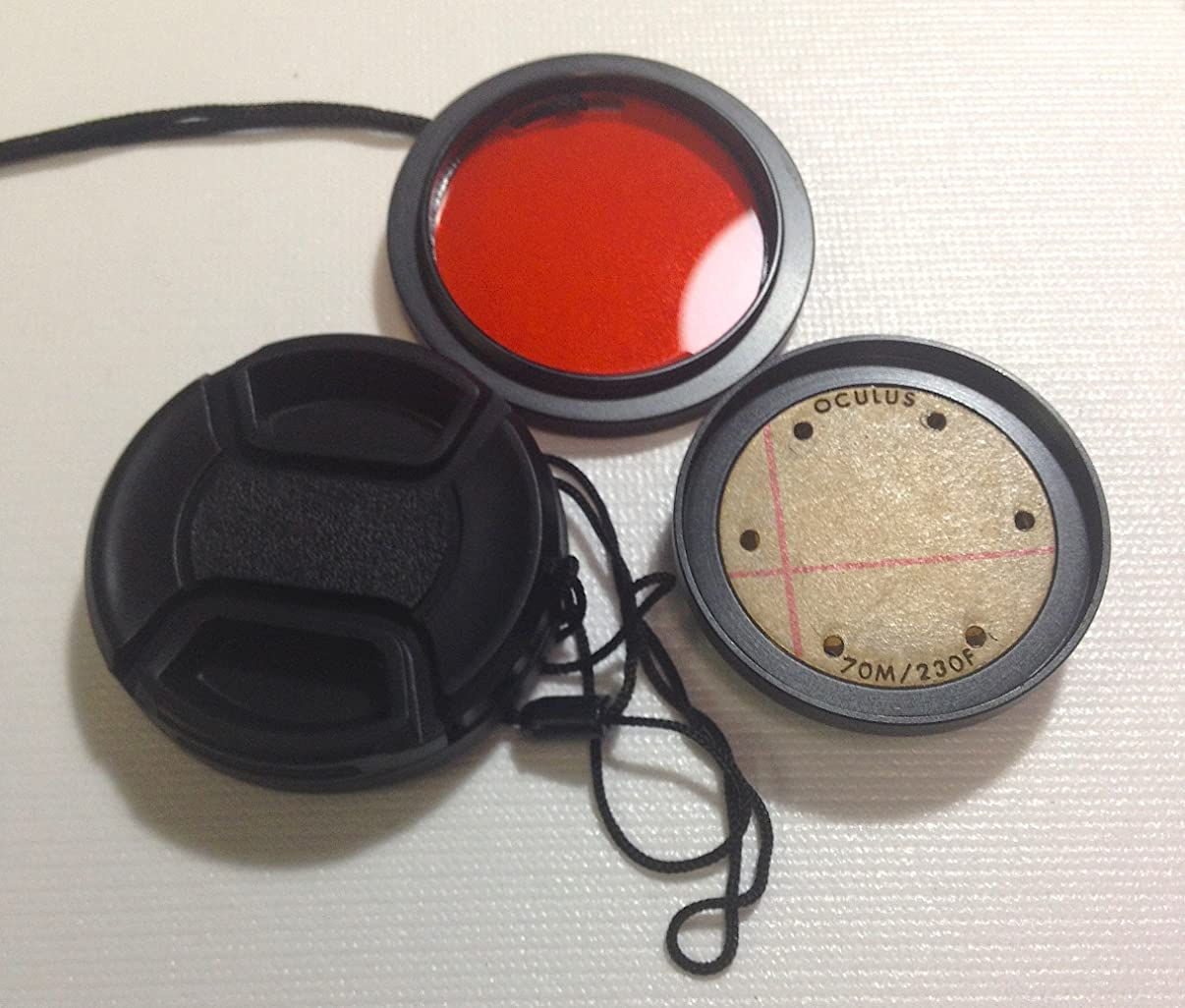 Oculus Underwater Flat Lens For Hero 1 & 2 w/ Red Filter