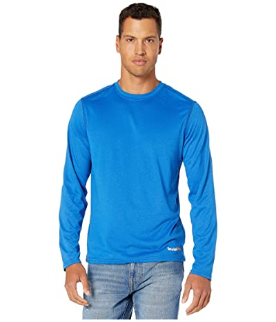 Timberland PRO Wicking Good Sport Long Sleeve T-Shirt (Turkish Sea Dark Heather) Men