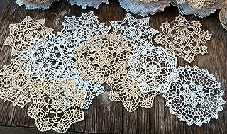 Granny's Hutch New lot of 12 Hand Crochet Doilies 7
