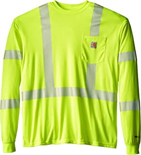 Men's Big & Tall High Visibility Force Long Sleeve Class 3 Tee