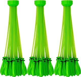 Bunch O Balloons – Instant Water Balloons –  Green (3 bunches – 100 Total Water Balloons)
