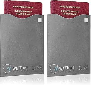 Pinzhi 2 Pcs Porte Passeport en Plastique Transparent