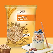 JIWA healthy by nature Rolled Oats 750 g, (Gluten Free)