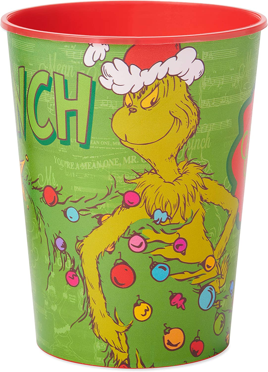 The Grinch American Greetings Plastic Christmas Cup 8-Count