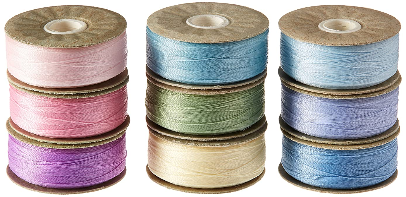 Superior Threads M72PASTELS Prewound Pastels M Style Bobbins Bottomline Thread