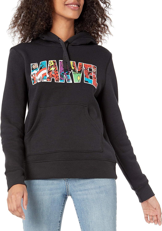 Amazon Essentials Women's Disney Star Wars Marvel Fleece Pullover Hoodie Sweatshirts