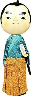 Mino Washi Handcrafted Japanese Kokeshi Wooden Doll 7.1