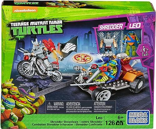 Mega Bloks Teenage Mutant Ninja Turtles Leo Shrotder Showdown Construction Set